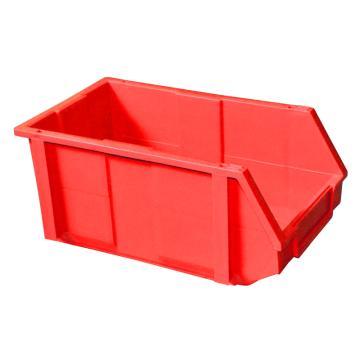 捷通 组合式零件盒,200*340*155mm,全新料,18个/箱,ZL-003 (红色)