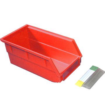 捷通 背挂式零件盒,140*270*125mm,全新料,12个/箱,BG-005(红色)