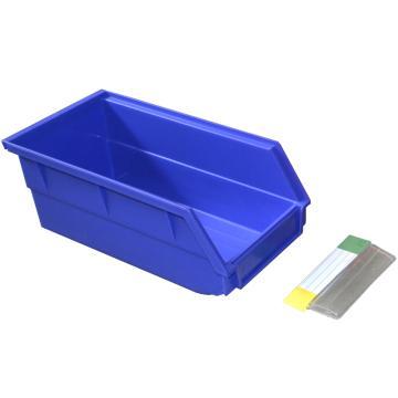 捷通 背挂式零件盒,105*110*50mm,全新料,60个/箱,BG-001(蓝色)