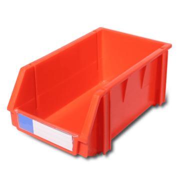 力王 组立零件盒,340*200*155mm,全新料,18个/箱,PK-003-红色