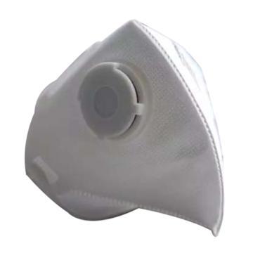 三晖N95带阀折叠防尘口罩,头戴式,SH3500V,20只/盒