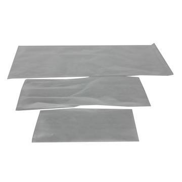 LDPE透明平口塑料袋,76×254mm,100只/包