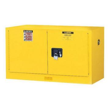 杰斯瑞特JUSTRITE 黄色易燃液体存储柜,FM认证,17加仑/64升,双门/手动,背负式,8917001