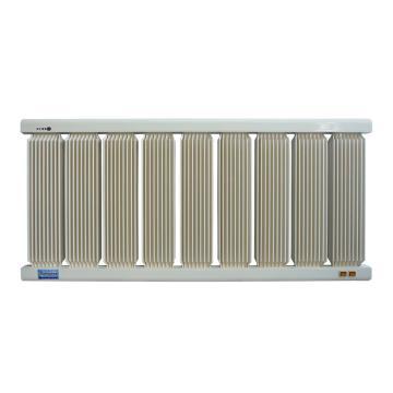 捷阳 电取暖器,HXD-2000,额定功率:2000W,1165*550*43;9KG;标准型,9柱,配16A温控