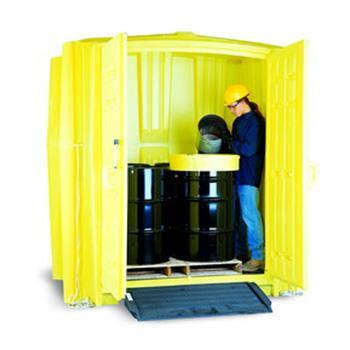 ENPAC 油桶存储工具柜,存放8个55加仑标准油桶,4010-YE