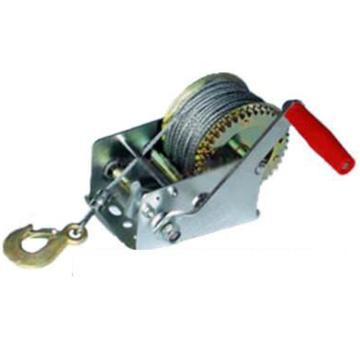 272KG手动绞盘,适用材质 钢丝绳