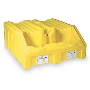 ENPAC 双桶叠放油桶架底座,1240×1350×580mm,6000-YE