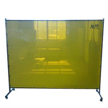 默邦 焊接防护屏,MB5201-2.46m,1.8m*2.46m 焊接防护屏 1.2mm厚 金黄色 不含框架
