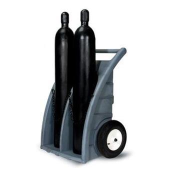 ENPAC 双气瓶推车,94×60×114cm,7302-BK