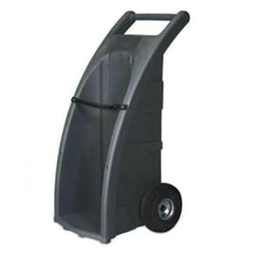 ENPAC 橡胶轮全路况型单气瓶推车,60×58×117cm,7301-BK-A
