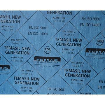 TEMASIL NEW GENERATION 通用型耐油无石棉板,TC-30 1500*1500*1.0mm