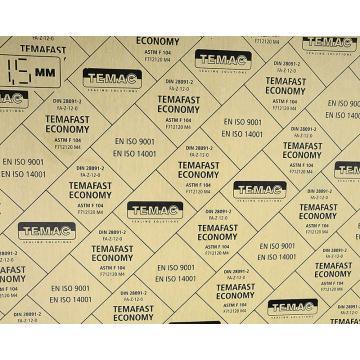 TEMAFAST ECONOMY经济环保有机纤维无石棉板,TC-50 500*500*3mm