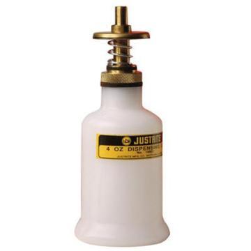 杰斯瑞特JUSTRITE 0.12升聚乙烯分裝罐,14002