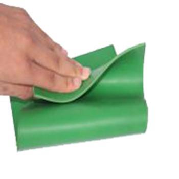 金能絕緣橡膠板,平面型 JN-JD 厚度5mm 寬1m,綠色,10KV,10米/卷,100kg 單位:卷