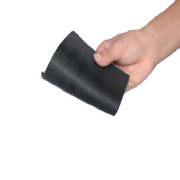 金能绝缘橡胶板 均匀条纹防滑 JN-JDJ 厚度5mm 宽1m,黑色,10KV,10米/卷,80kg