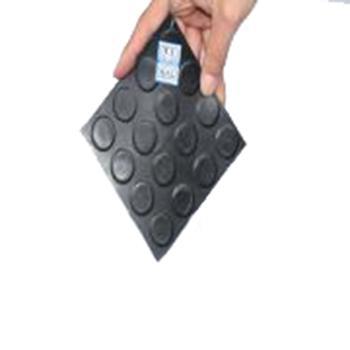 金能绝缘橡胶板,圆凸点防滑 JN-JDT 厚度3mm 宽1m,黑色,5KV,10米/卷,48kg 单位:卷