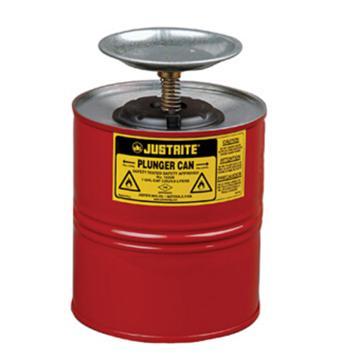 杰斯瑞特JUSTRITE 1加仑/4升钢制活塞罐,10308