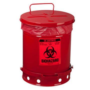 JUSTRITE/杰斯瑞特 生化危险废物罐,10加仑/34升,05930R