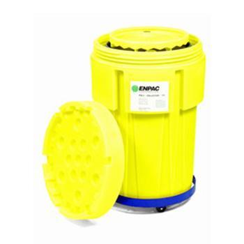 ENPAC移动式废液收集桶110,带钢桶,8080-YE