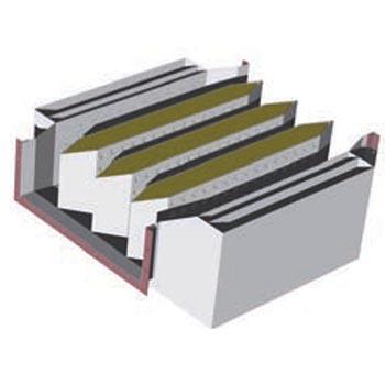 复合式消声器(图片仅供参考,以实物为准,按产品面积计价)