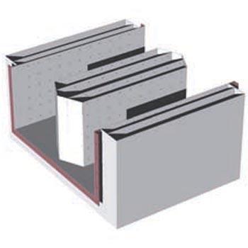 折板式消声器(图片仅供参考,以实物为准,按产品面积计价)