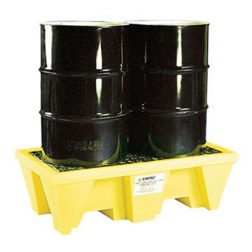 ENPAC 2桶盛漏托盘,带排水,5253-YE-D