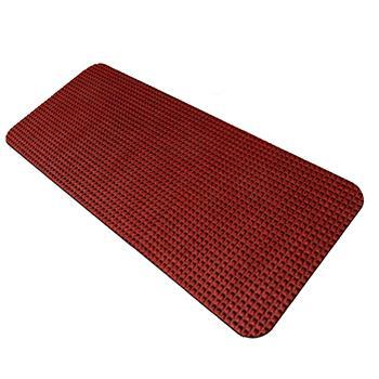 力九和除尘晶钻素面地垫,1.2m*12m,红色单位:卷