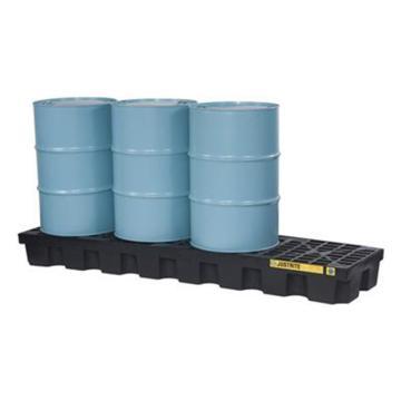 杰斯瑞特JUSTRITE 4桶装盛漏托盘,无插槽,狭长形,不可配叉车,28631