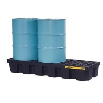 杰斯瑞特JUSTRITE 3桶装盛漏托盘,无插槽,狭长形,不可配叉车,28627