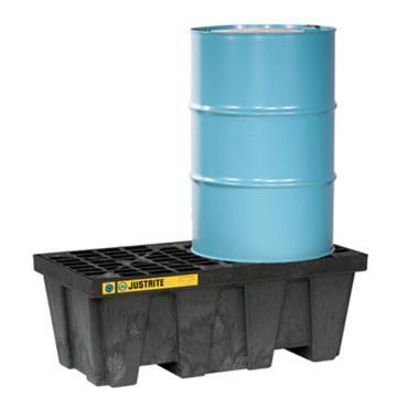 杰斯瑞特JUSTRITE 2桶裝盛漏托盤,狹長形,28623