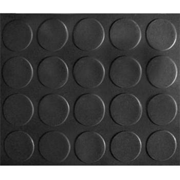 力九和走道墊,大銅錢紋走道墊,1.2m*18m*2mm(寬x長x厚),黑色 單位:片