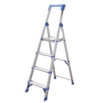 金锚 铝合金高强度工作梯,踏板数:6,额定载荷(KG):150,工作高度(米):1.5,AO13-106