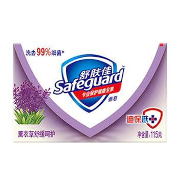 舒肤佳薰衣草舒缓呵护香皂,108g(代替原先115g,条形码一样)单位:个