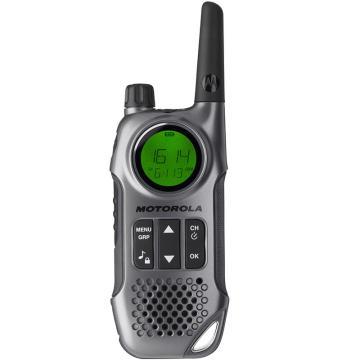 摩托罗拉 民用对讲机, 免执照对讲机 T8 原装标配0.5W(出厂频点,无法调频)