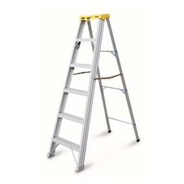 金锚 铝合金高强度工作梯,踏板数:4,额定载荷(KG):150,工作高度(米):1.33,AO21-104