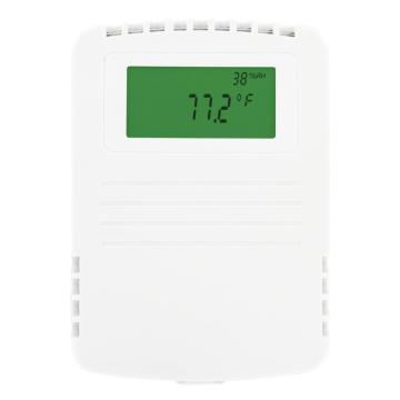 Dwyer 墙装温湿度露点变送器,RHP5N44-LCD