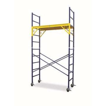 金锚 重型可移动作业平台梯,额定载荷(KG):135 平台工作高度(米):3.5,HB4923-2A