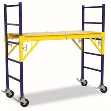 金锚 重型可移动作业平台梯,额定载荷(KG):135 平台工作高度(米):1.8,HB4923