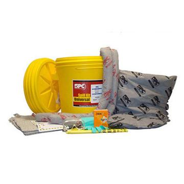 SPC 75L通用型泄漏处理套件桶 带有螺旋盖,吸附量57升/套,SKR-20