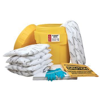 西斯贝尔SYSBEL 泄漏应急处理桶套装,油类专用,20加仑,SYK202