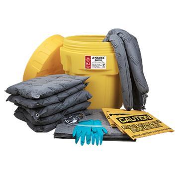 西斯贝尔SYSBEL 泄漏应急处理桶套装,通用,20加仑,SYK200