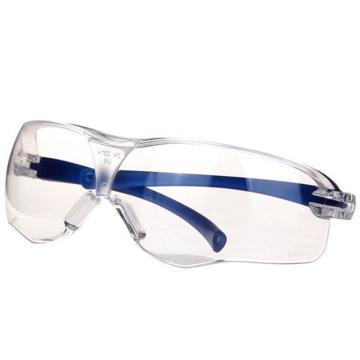 3M 10434中国款流线型防护眼镜,透明镜片,防雾