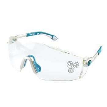 代尔塔 101115 舒适型安全眼镜,透明防雾
