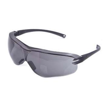 3M 防护眼镜,10435,中国款流线型防护眼镜 灰色镜片 防雾