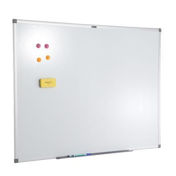 齐心 BB7629 耐用易擦系列白板 100*200CM 白