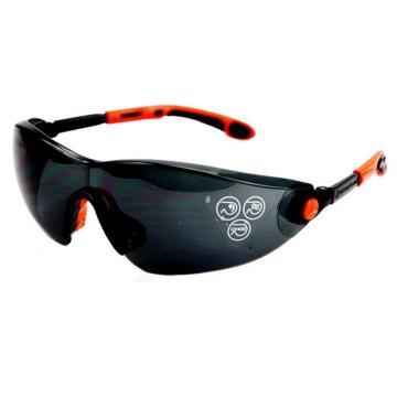 代尔塔DELTAPLUS 防护眼镜,101120,时尚型安全眼镜 黑色太阳镜