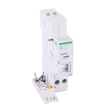 施耐德Schneider 电磁式漏电保护附件,Acti9 Vigi iDPN Class AC ELM 40A 30mA,A9Y52640