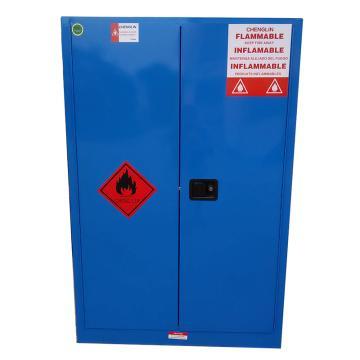 成霖 蓝色弱腐蚀性液体安全柜,45加仑/170升,双门/手动,CL804502