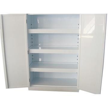 成霖 瓷白色强酸强碱PP柜,53加仑/200升,双门/手动,1800×900×460mm,CL-P2000