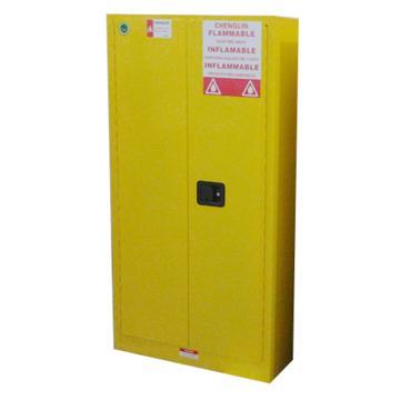 成霖 黄色易燃液体安全柜,60加仑/227升,双门/手动,CL806000